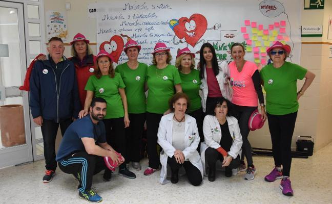 Los mayores de La Paz fomentan el deporte en el centro de salud