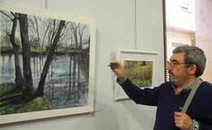 Exposición colectiva de acuarelistas extremeños en Mérida
