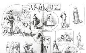 El cacereño que hace 131 años retrató Badajoz: Ramón Cilla