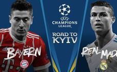 Bayern-Real Madrid, duelo de gigantes