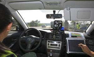 La DGT inicia el lunes una nueva campaña de control de velocidad en Extremadura