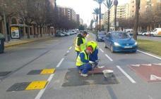 Cambios en el tráfico desde el lunes por el asfaltado de Sinforiano Madroñero