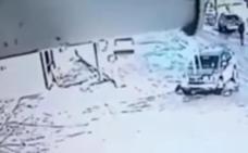 Una anciana es arrollada por el despiste de un conductor