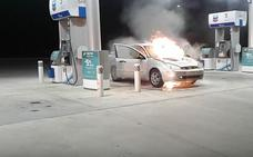 Desastre en la gasolinera