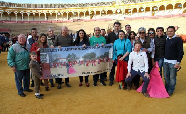 El taller de toreo pacense en La Maestranza