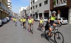 La Policía Local de Badajoz acerca el uso de la bici a los jóvenes