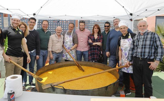 La Cañada celebra una paella de convivencia en el barrio