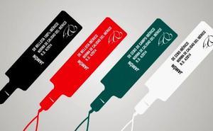 Cuatro precintos de colores para diferenciar los productos ibéricos