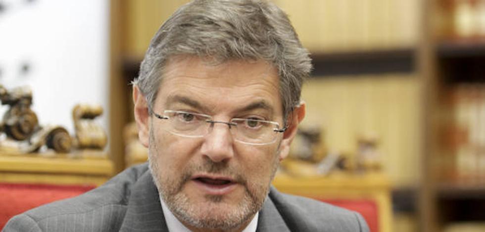 Rafael Catalá: «El estado autonómico ha generado tensiones salariales que vamos a abordar»