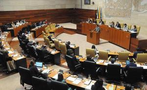La situación de la sanidad extremeña protagonizará el pleno de la Asamblea