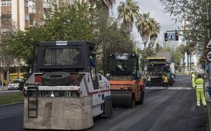 Comienza el asfaltado de Sinforiano en el tramo más cercano al Puente Real