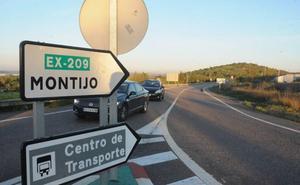 Aprueban la ocupación de terrenos para suprimir un tramo de concentración de accidentes en la Ex-209 en Montijo