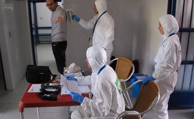 Los vestuarios del campo de fútbol de Trujillo pasan la revisión como centro de descontaminación