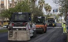 Las obras en Sinforiano Madroñero se realizarán hasta el sábado en horario nocturno