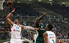 El Madrid reacciona y recupera el factor cancha ante el Panathinaikos