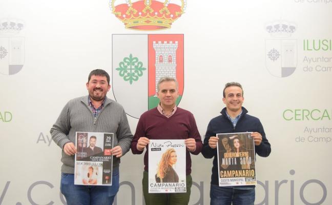 Agotadas las entradas del concierto de Niña Pastori en Campanario