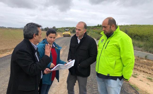 Las obras del camino de La Quebrada de Valdivia se encuentran en su recta final