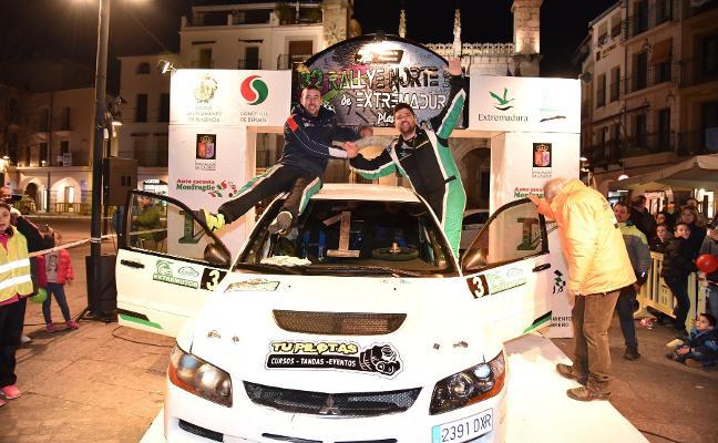 El Rallye Norte arranca sin David Quijada, último ganador