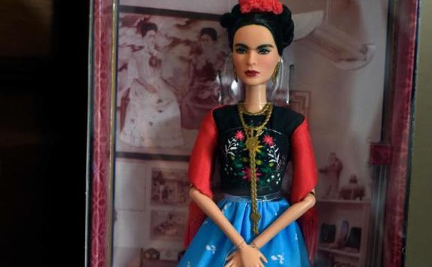 La Barbie de Frida Kahlo.