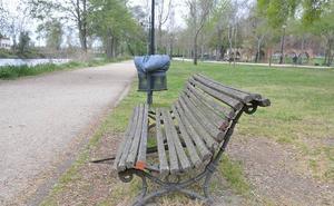 El fuerte viento obliga a cerrar parques y paseos fluviales en Plasencia