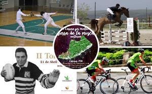 Las ocho propuestas deportivas para este 'finde' con motivo de San Jorge