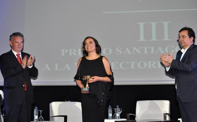 Pepa Bueno: «Es una alegría y un reconocimiento al trabajo»