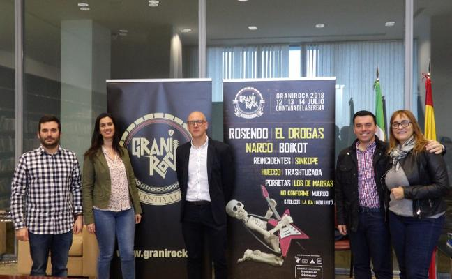 El Festival Granirock hace su presentación con el respaldo de las autoridades