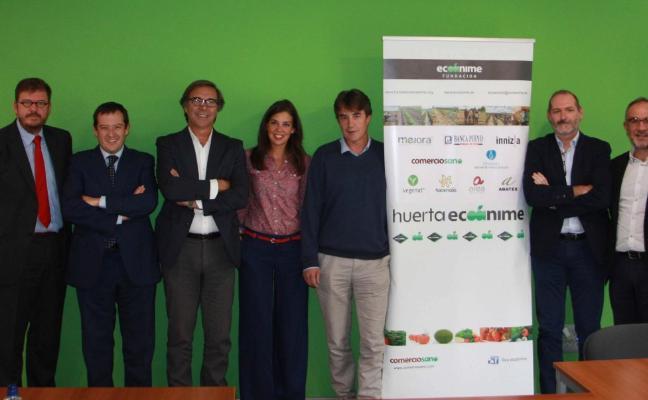 La Fundación Ecoánime impulsa una huerta ecológica en Don Benito