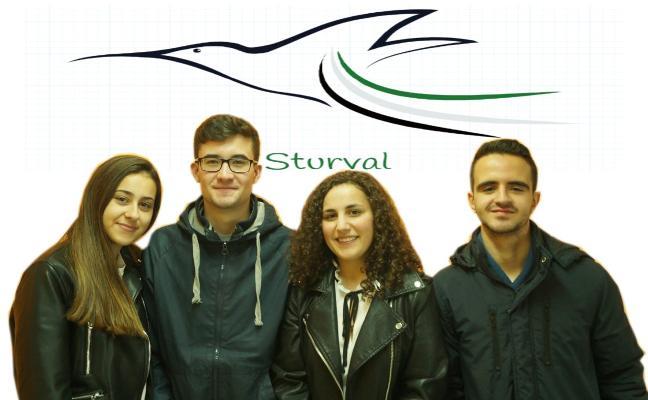 Alumnos del Alba Plata idean un plan para atajar la plaga de los estorninos