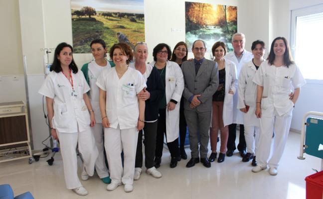 La unidad de quimioterapia del Hospital de Zafra comienza a funcionar este lunes