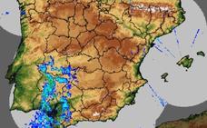 Cuatro localidades extremeñas, entre las más lluviosas de España este sábado