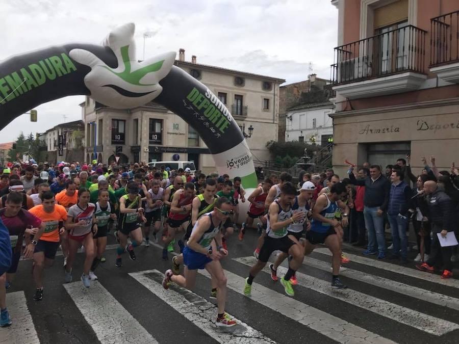 Mario Mirabel y Sara Barrios ganan la Media Maratón de Coria