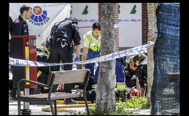 Deleitosa «está de luto» por el asesinato de sus dos vecinas en Vitoria