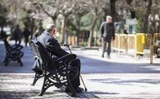 La pensión media en Extremadura es de 775,7 euros en abril