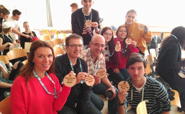 El Santiago Apóstol trabaja en Eslovenia la 'ciudadanía digital'