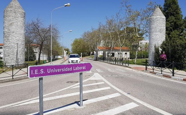La reforma del IES Laboral en Cáceres se hará en tres fases e incluye un edificio nuevo
