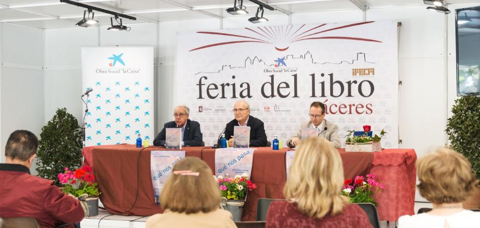 La Feria del Libro indaga en los males de Extremadura y los secretos de Cáceres