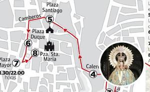 La bajada de la patrona de Cáceres abre su Novenario más ambicioso