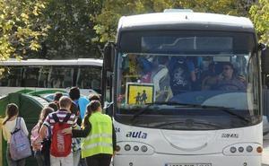 Las ayudas de la Junta para el transporte y los comedores beneficiarán a 2.400 escolares