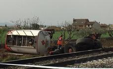 Seis trenes extremeños afectados por el choque de un camión y un convoy en Toledo