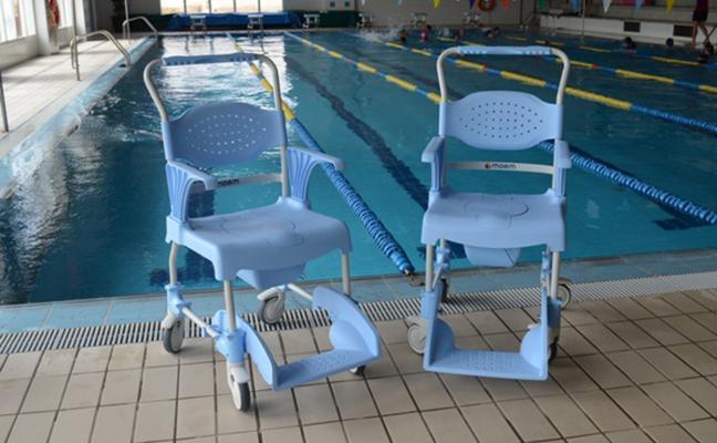 Nueva adquisición para hacer la piscina de Villanueva más accesible