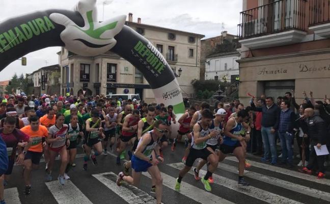 Mirabel y Barrios ganan la X Media Maratón de Coria