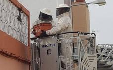Bomberos en alerta por el exceso de enjambres en Badajoz
