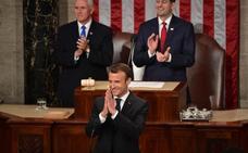 Macron insta a Trump a devolver a EE UU al juego multilateral