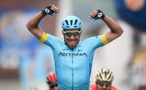 Fraile gana la primera etapa y Roglic se coloca líder