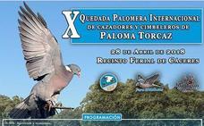 Unas mil personas se darán cita en Cáceres en la X Quedada Internacional de Cazadores de Paloma Torcaz