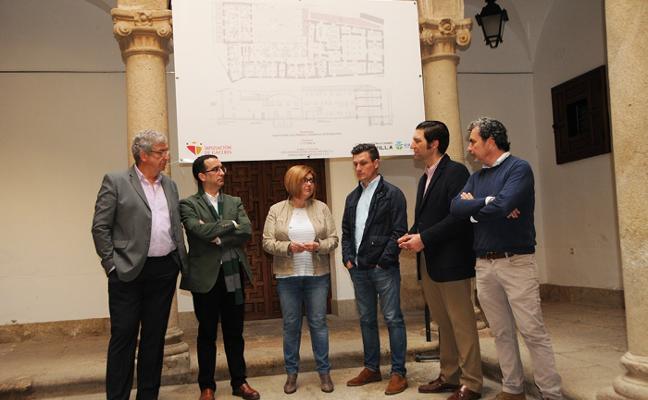Comienza la adaptación de la Casa Pereros a residencia de estudiantes
