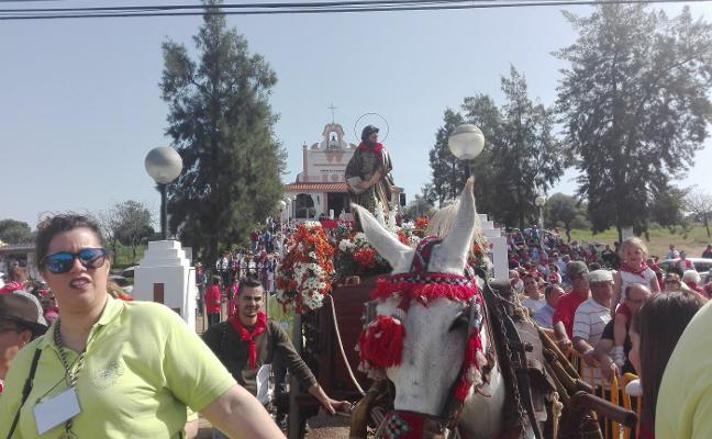 Miles de ciudadanos viven San Marcos en Almendralejo