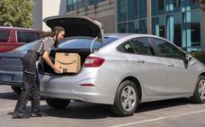 Amazon te deja los paquetes en el maletero del coche