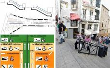 Las escaleras mecánicas se pondrán en Galarza pese a las dudas de la oposición
